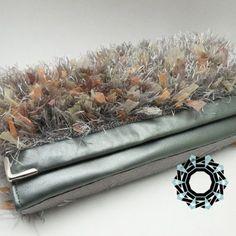 """A """"Fur"""" for the evening / """"Futro"""" na wieczór by Tender December, Alina Tyro-Niezgoda. More / Więcej: http://tenderdecember.eu/ladowniki/evening-fur-futro-wieczor/ To buy/Aby kupić:http://tenderdecember.eu/shop/produkt/gray-fur-evening-szare-futro-na-wieczor/"""