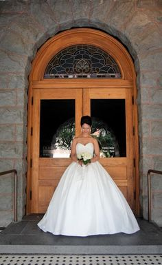 Bridal Portrait at Old Red Courthouse by Wedding Shoppe Dallas