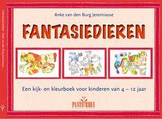 Een vrolijk kijk-en kleurboek voor kinderen van 4-12 jaar