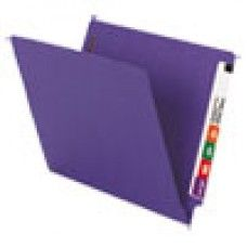"Desk Supplies>Desk Set / Conference Room Set>Holders> Files & Letter holders: WaterShed/CutLess End Tab 2 Fastener Folders, 3/4"" Exp., Letter, Purple, 50/Box"