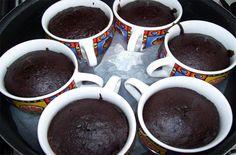 Çikolata Soslu Fincan Kek