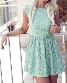 mint. lace. It needs a belt and cowboy boots and I'm good to go(:  #weightloss #health #weight loss