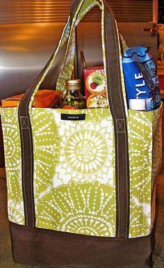 EZ Grocery Bag Tutorial