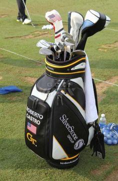 Golf Bag Logos Early Christmas Present For Pga Golfer Roberto Castro Vesselbags