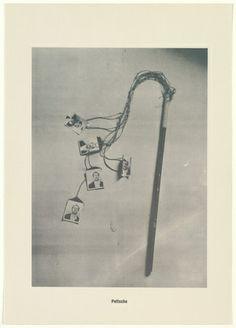 Sigmar Polke with Christof  Kohlhöfer. Whip (Peitsche) from .....Higher Beings Ordain (.....Höhere Wesen befehlen). 1968