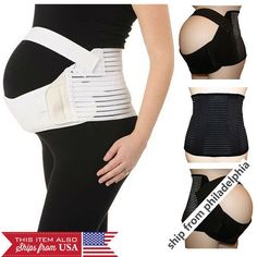 Pregnancy Maternity Abdominal Back Support Strap Belt Belly Double Bands Brace Belly Belts, Bands