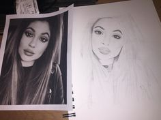 Kylie Jenner drawing ✍