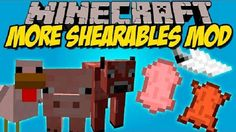 New post (More Shearables Mod 1.8.9/1.7.10) has been published on More Shearables Mod 1.8.9/1.7.10  -  Minecraft Resource Packs