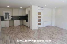 Cocina Living Spaces, Kitchen Cabinets, Home Decor, Bathroom, Quartos, Decoration Home, Room Decor, Cabinets