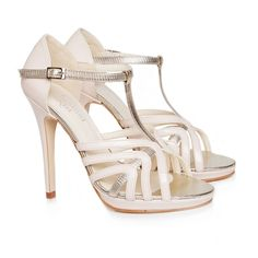 5956f182c Zoe vintage inspired vegan high heel T-bar sandal shoe cream nude and  metallic gold non leather PU cruelty-free vegan and vegetarian made with  synthetic ...