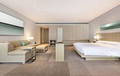Located amid the historic city of Luoyang, this new construction hotel features 250 guest rooms and suites. The design overlay the contemporary hotel with. Luoyang, Visual Merchandising, Hotel Bedroom Design, Hotel Bedrooms, Design Hotel, Hotel Concept, Modern Light Fixtures, Hotel Interiors, Branding