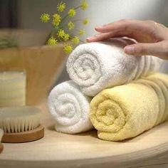 How to make old towels soft again