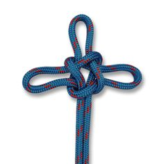 The Sailor's Cross is a decorative knot and a variety on the True Lover's Knot. In this HOW TO TIE KNOTS, learn how to tie a Sailor's Cross.