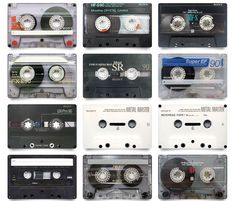 Sony Cassettes.