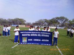 Institución Educativa Parroquial Nuestra Señora del Rosario, donde labora nuestro prof. Erly López Justo.