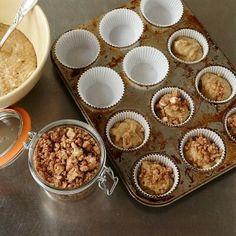 Delicious gluten free banana muffins.