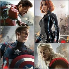 The Avengers: Age of Ultron. Via Twitter.