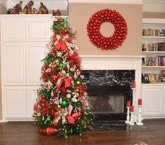 Christmas Tree theme- Peppermint Twist is a sweet treat for Christmas in #Red, #White, and #Green with #Peppermint ribbon