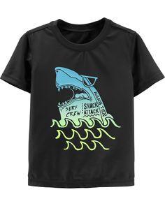 Toddler Boy OshKosh Shark Rashguard | OshKosh.com