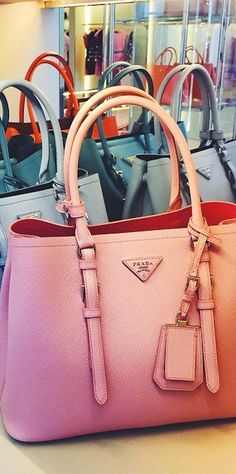 Prada in Pink (pretty~!) Pink Handbags 55858d1aa44d1
