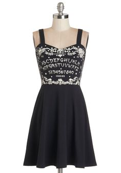 Channel some spell-binding style in this spooky sweetheart of a dress!