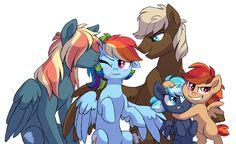 NG: Rainbow Dash's family by Lopoddity.deviantart.com on @DeviantArt
