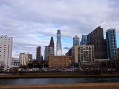 Philly from the Schuykill Expressway 4.13