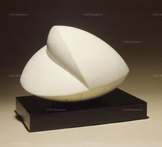 Jean Hans Arp, Abstract (Individual Artists), Marble, Sculpture, Shell