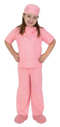 pink toddler scrubs 22 $30