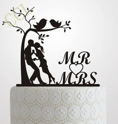 Type: Event Supplies Material: Acrylic Occasion: Wedding Color: Black Theme: Wedding cake topper Size: About 15cm x 15cm