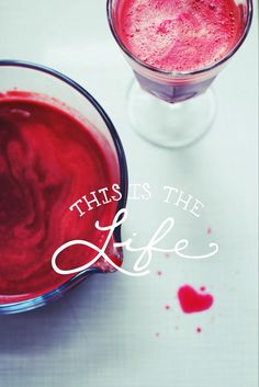 Take it slow(juice).. Beet, apple and love