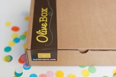 OliveBox — Monthly Subscription Service for Paper Lovers. I would loooove if I got this as a monthly gift! Such a cute idea.
