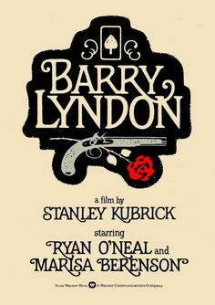 Barry Lyndon is a 1975 BritishAmerican period drama film written produced and directed by Stanley Kubrick based on the 1844 novel The Luck of Barry Lyndon Ryan O'neal, Hindi Movies, Martin Scorsese, Alfred Hitchcock, Disney Pixar, Barry Lyndon, Cinema Posters, Movie Posters, Blade Runner