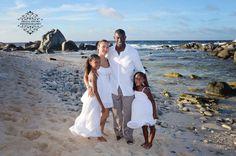 The King family photo shoot in Aruba