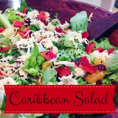 This sweet and refreshing salad is perfect for the summertime!