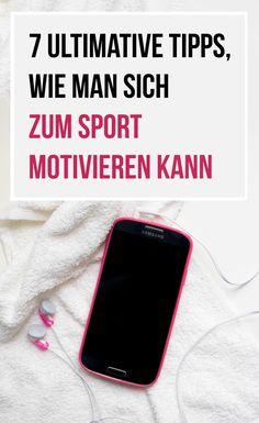 Ich habe für euch einen Guide zum Thema Sportmotivation: Mit diesen Tipps motivieren sich auch die Faulsten unter euch zum Sport!