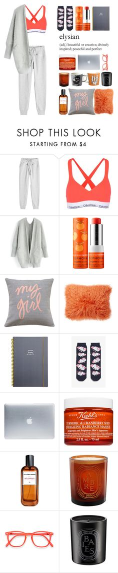 """Untitled #39"" by moneanemone ❤ liked on Polyvore featuring adidas, Calvin Klein Underwear, Chicwish, Sephora Collection, Brika, Nordstrom Rack, Go Stationery, Monki, Incase and Kiehl's"