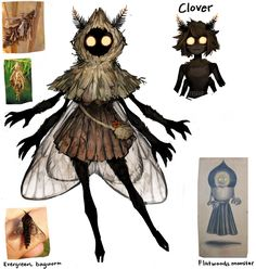 Fantasy Character Design, Character Design Inspiration, Character Concept, Character Art, Monster Concept Art, Monster Art, Monster Characters, Fantasy Characters, Fantasy Creatures