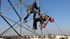Cell Tower Training- Authorized Climber, Competent Climber, Competent Ri...