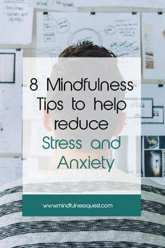 Stress and anxiety have become a part of life in modern living. Whether you are college student, working professional or a homemaker is common. Learn eight effective that help reduce stress and Mindfullness Meditation, Daily Meditation, Ways To Reduce Stress, How To Relieve Stress, Feelings And Emotions, Thoughts And Feelings, Anxiety Relief, Stress And Anxiety, Feeling Stressed