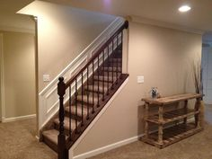Cheap Basement Ideas Traditional Basement Design Ideas, Pictures, Remodel and Decor Basement Remodel Diy, Basement Makeover, Basement Renovations, Home Renovation, Home Remodeling, Bedroom Remodeling, Basement Designs, Basement Staircase, Basement House