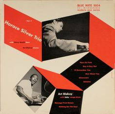 LP Blue Note BLP 5034 - Horace Silver Trio Vol. 2 - Photo : Francis Wolff - Design : Jerome Kuhl