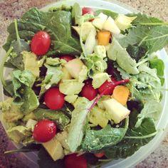 Homemade garden salad