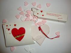 Porseleinen hartje onder de riem in doosje #wensdoos #cadeau