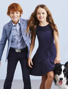 Russian child model Kristina Pimenova. //armani Junior spring 2015 campaign