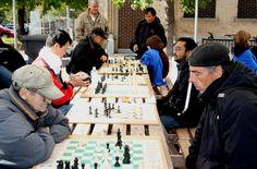 Une 9e saison d'échecs en plein air | Métro