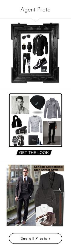 """""""Agent Preta"""" by bfarmer09 ❤ liked on Polyvore featuring Linda Horn, Any Old Iron, Bally, Dsquared2, South Lane, Ralph Lauren, men's fashion, menswear, Burberry and A.X.N.Y."""