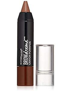 Maybelline New York Eyestudio Brow Drama Pomade Crayon Eye Color, Deep Brown, Fluid Ounce -- Details can be found by clicking on the image. (This is an affiliate link) Light Blonde, Dark Blonde, Curly Blonde, Brow Color, Eye Color, Hair Color, Eyebrow Sculpting, Brow Pomade, Perfect Brows