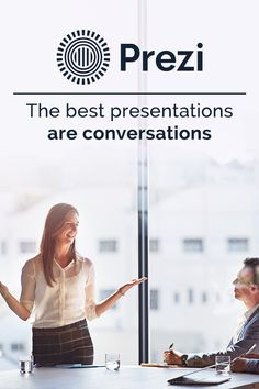 The best presentations are conversations, and with Prezi, features like custom templates and presentation analytics make it possible to engage your audience and track your impact, all through a simple yet powerful user interface. Sign up for your free trial today.