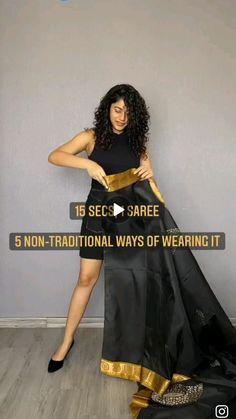 Indian Fashion Dresses, Girls Fashion Clothes, Diy Fashion Hacks, Fashion Basics, Hair Style Vedio, Saree Wearing Styles, Diy Hair Treatment, Front Hair Styles, Diy Hair Care